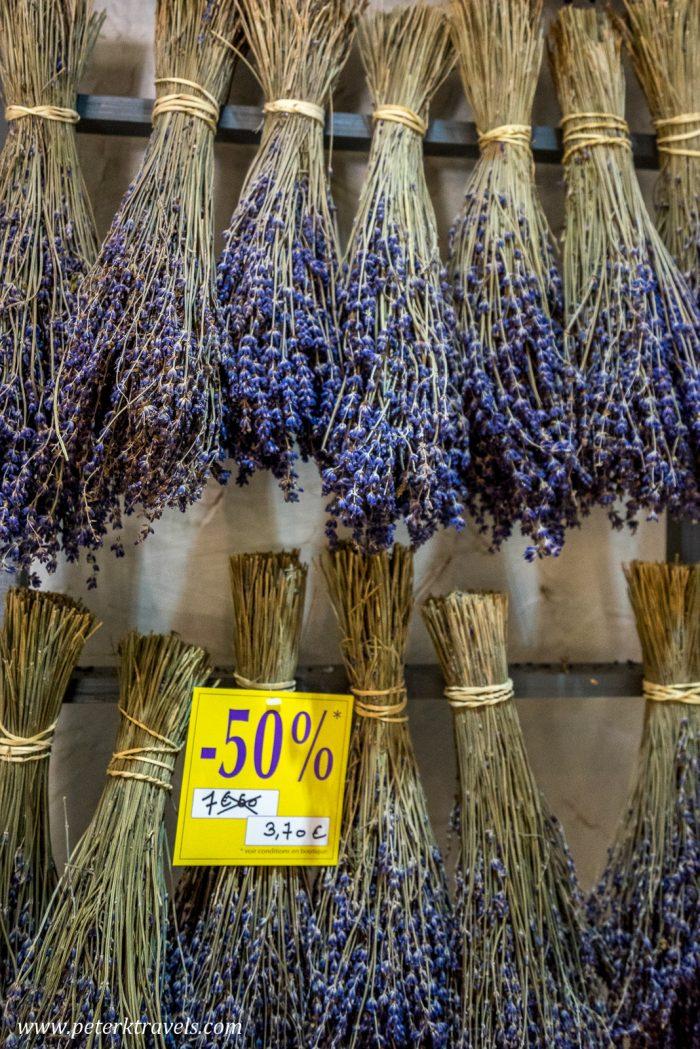 Lavender, Arles