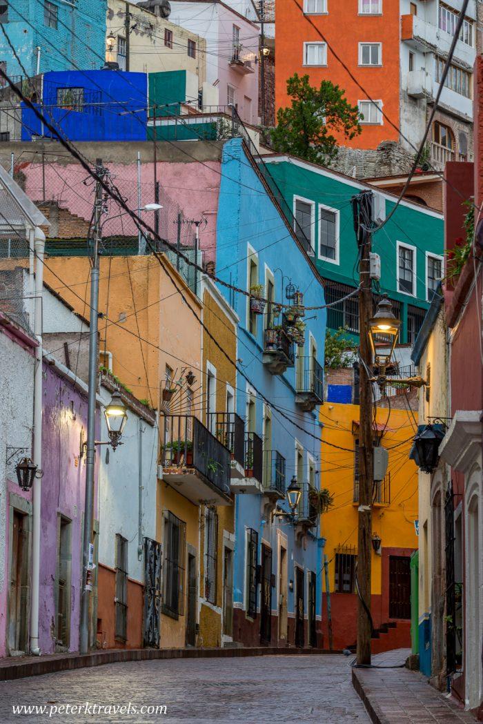 Colorful street, Guanajuato