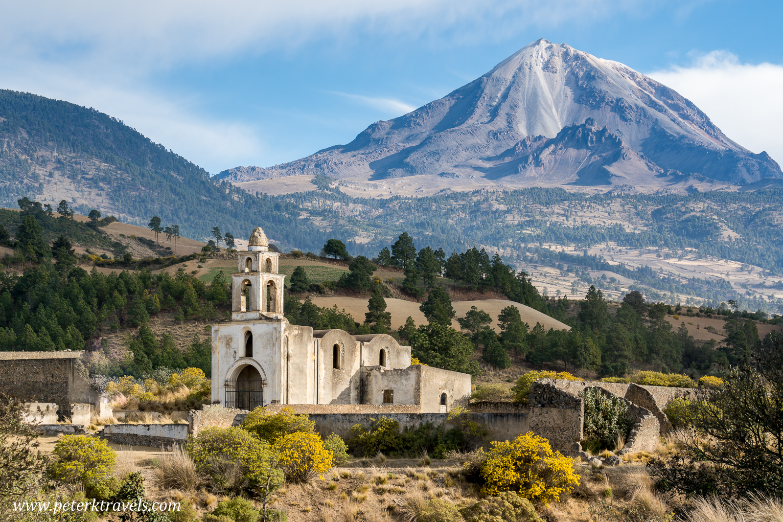 A Ruined Hacienda and Pico de Orizaba – Peter's Travel Blog